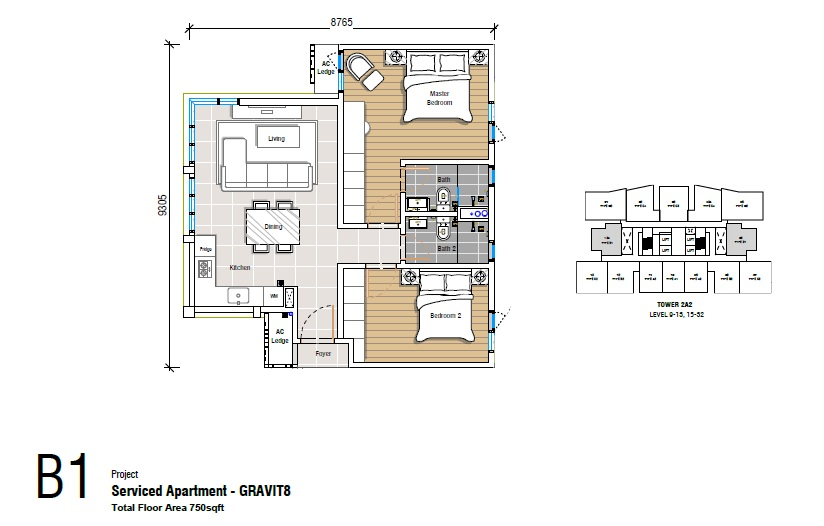 Affordable service apartment in malaysia gravit8 at for Malaysia house plan